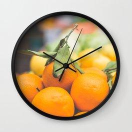 Orange Dreams Wall Clock