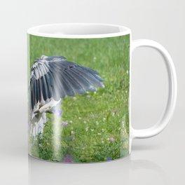 Welcome Heron Coffee Mug
