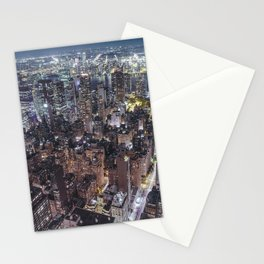 New York City Skyline V Stationery Cards