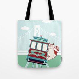 Fatty's in San Francisco Tote Bag