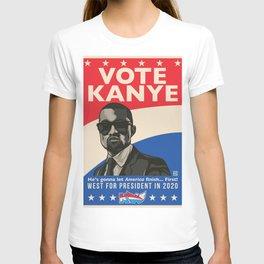 Vote West In 2020 T-shirt