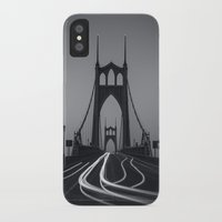marc johns iPhone & iPod Cases featuring St. Johns Monotone by Cameron Booth