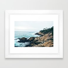 Standing on the Coast Framed Art Print