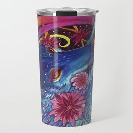 Neon coyote Travel Mug