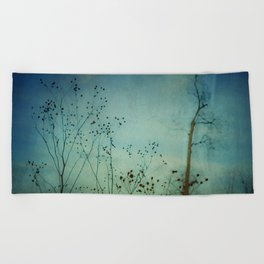 Moody Blues Beach Towel