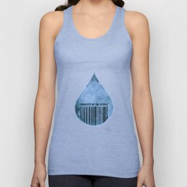 Water : Property of the People 2 Unisex Tank Top