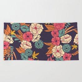 Jungle Pattern 006 Beach Towel