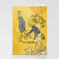 hiccup Stationery Cards featuring Modesto! Hiccup by MODESTo! Prints