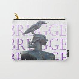 Brugges - 2013 - arte urbana - Foto de José Santhiago Carry-All Pouch