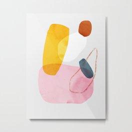 abstract dog Metal Print