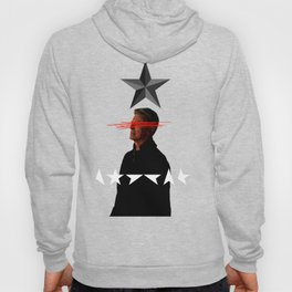 Bowie Black Star Concept Album Cover Hoody
