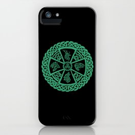 Celtic Nature iPhone Case
