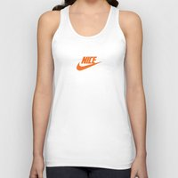 nike Tank Tops featuring Nike Nice by Tony Vazquez