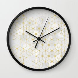 Deluxe Geometric Wall Clock