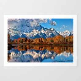 Oxbow Reflections Art Print