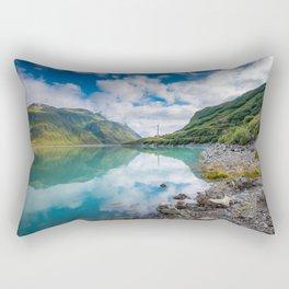SIlvretta-Stausee Rectangular Pillow