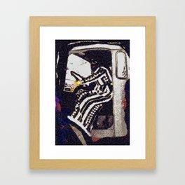 Desert Ride Framed Art Print
