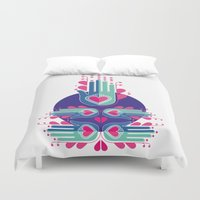 karma Duvet Covers featuring Good Karma by ...while dreaming of mumbai