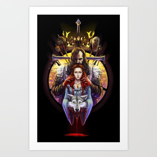 The Blood Maiden Art Print