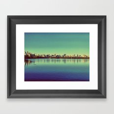 New York.. I've got you under my skin Framed Art Print
