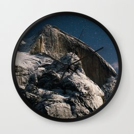 Half Dome Night Wall Clock