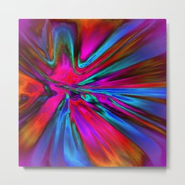 Radiant Dragonfly Metal Print