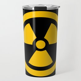 Yellow Radioactive Travel Mug
