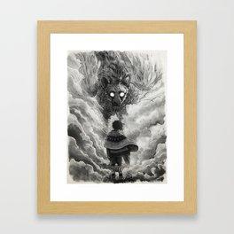 Last Guardian Framed Art Print