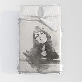 Martha Argerich Duvet Cover
