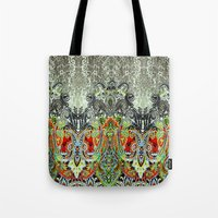 paisley Tote Bags featuring Paisley by BellagioVista