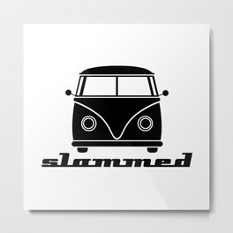 slammed… go low, or go home Metal Print
