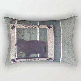 Wooly Sheep Rectangular Pillow