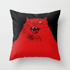 The original cat Throw Pillow