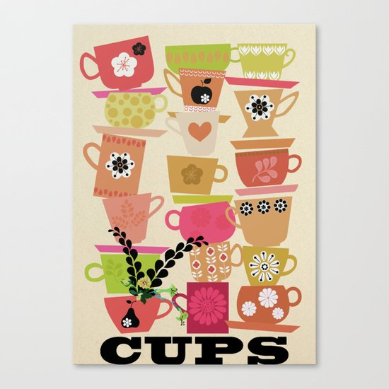 cups! Canvas Print