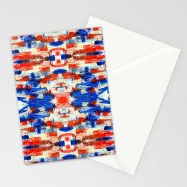 kaleidoscope ethno art smears Stationery Cards