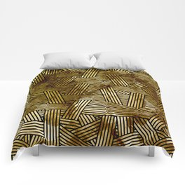 Abstract overlays Comforters