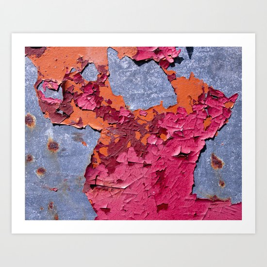 3 Paints Art Print