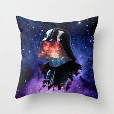 THE DARTH FATHER Throw Pillow
