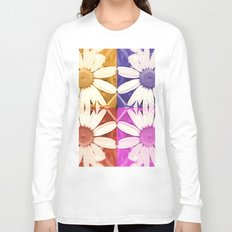 Flower patchwork pattern Long Sleeve T-shirt