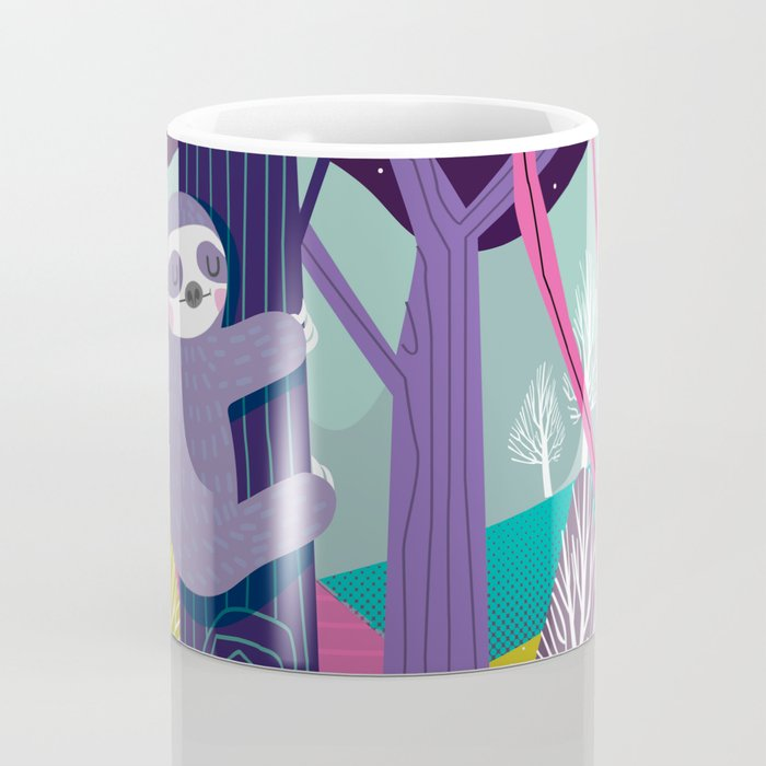Sloth in the woods Coffee Mug