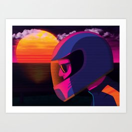 The Getaway Art Print