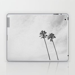 PALM TREES II (B+W) Laptop & iPad Skin