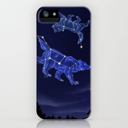 Momma's Always Watching iPhone Case