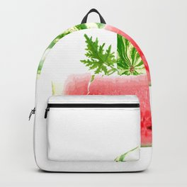 SQUARE WATERMELON Backpack