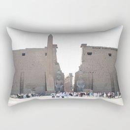 Temple of Luxor, no. 10 Rectangular Pillow