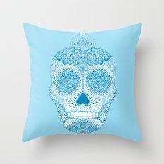 Cosmic Blue Throw Pillow