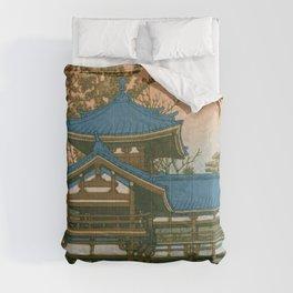 HOUODO - Kawase Hasui Comforters