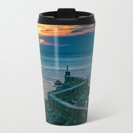 Old Breakwater, Montevideo, Uruguay Travel Mug