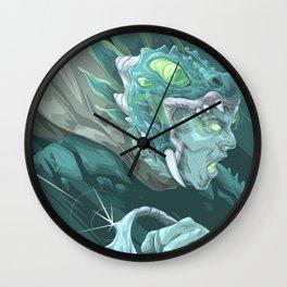 The Dragon Fang Spectre Wall Clock