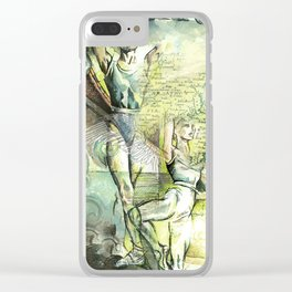 """Ballet dancers"" - by Fanitsa Petrou Clear iPhone Case"